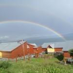 doble arco iris en Verano.